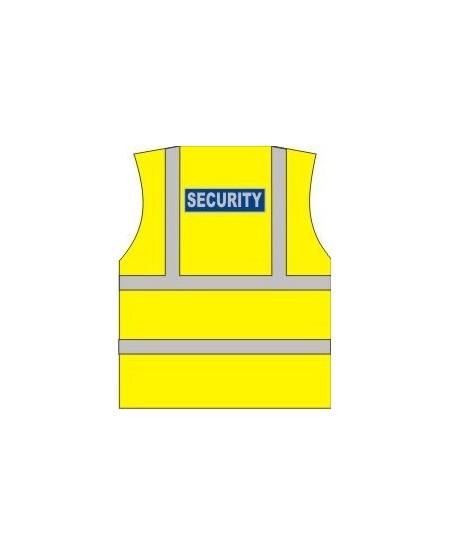 Security Printed Hi Vis Vest