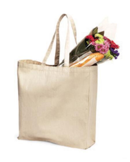 Westford Mill WM108 Canvas Classic Shopper