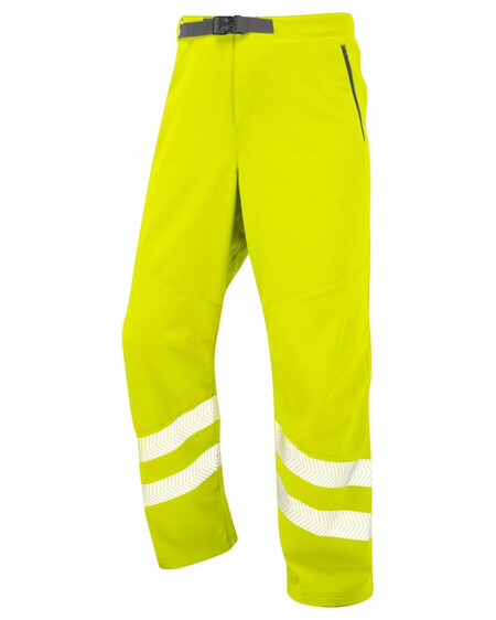 Leo Stretch Trousers Yellow WT01 Front