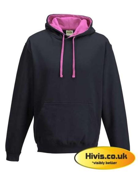 Awdis JH003 Oxford Navy/Candyfloss Pink