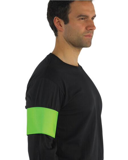 Hi Vis arm band HVW66 Lime Green