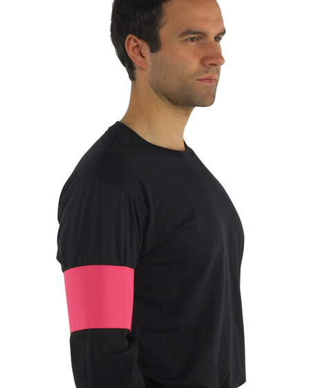 Hi Vis arm band HVW66 Pink
