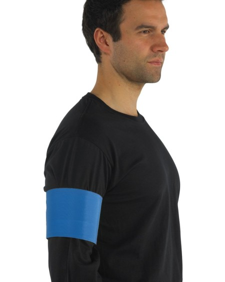 Hi Vis arm band HVW66 Royal Blue