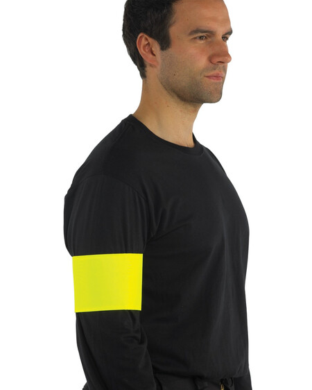 Hi Vis arm band HVW66 Yellow