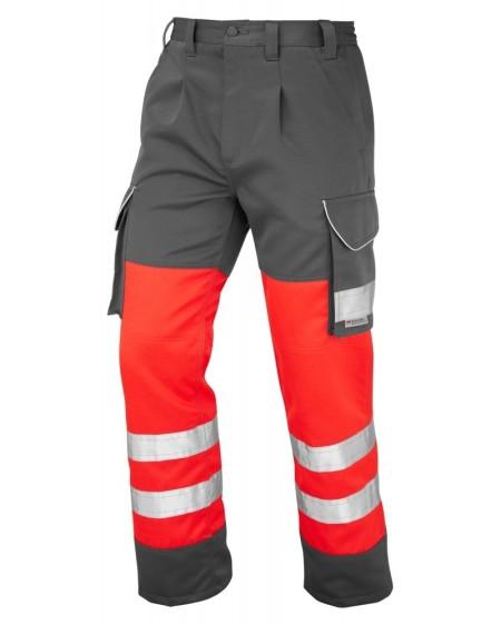 Leo Bideford trouser Red/Grey