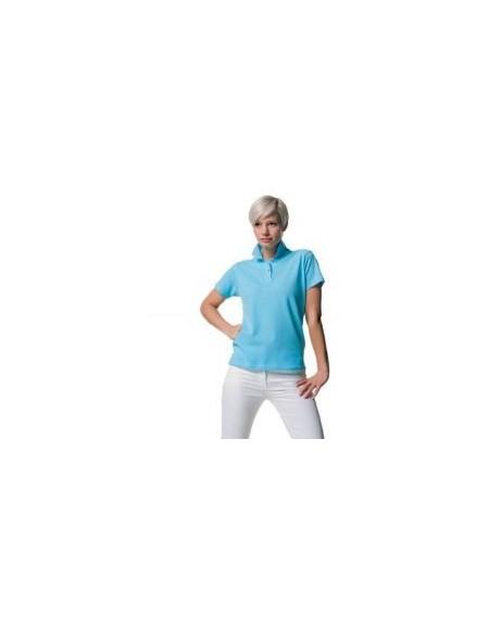 Jerzees Colours J569F,Women's 100% cotton polo