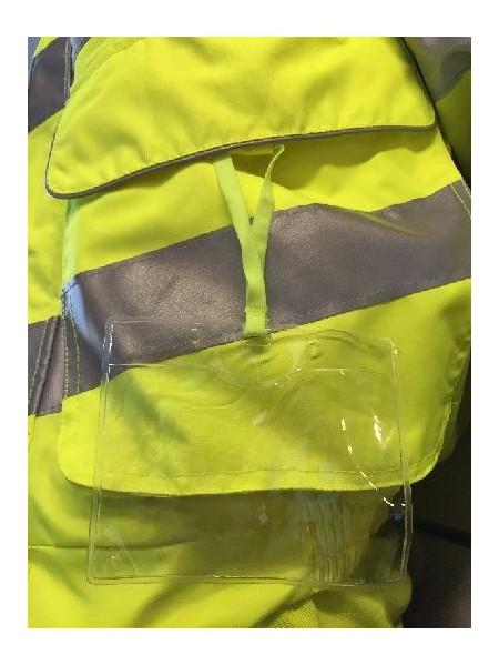 Pulsar Hi Visibility Yellow Padded Storm Coat P187