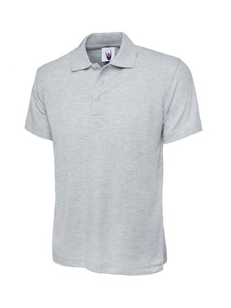 UC103 Heather Grey Polo Shirt