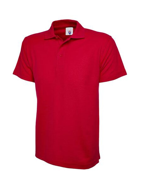 UC103 Red Polo Shirt