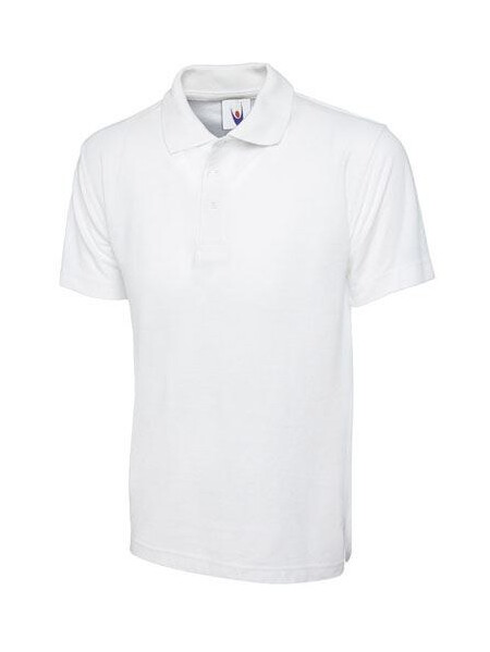 UC103 White Polo Shirt