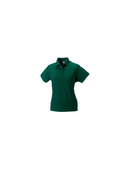 Russell J011F Women's Cotton Polo