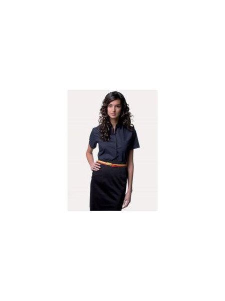 Russell J935F Women's short sleeve Easycare poplin shirt
