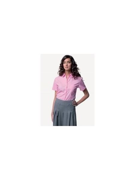 Russell J937F,Women's S/S 100% cotton poplin shirt