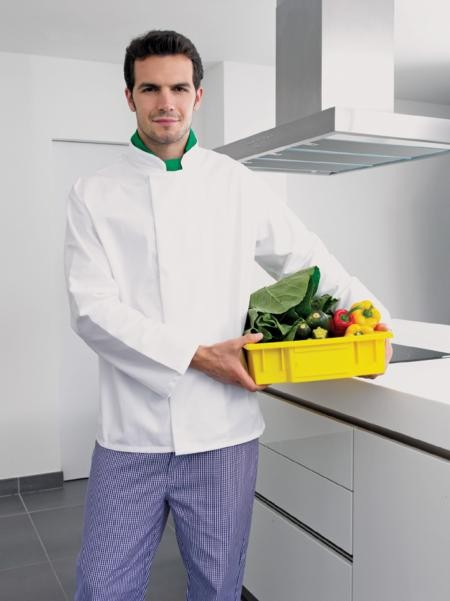 Premier PR659 Coolmax L/S Chef's Jacket