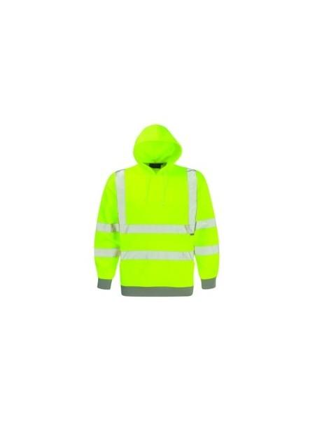 Dickies SA22090 Hi Vis Hooded Sweatshirt