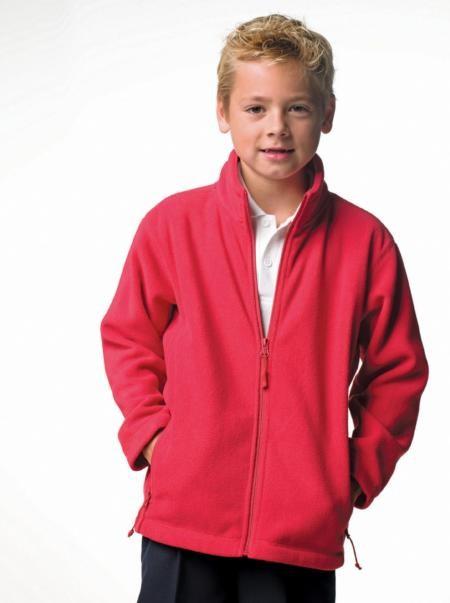Jerzees Schoolgear 8700B,Kid's Full Zip Outdoor Fleece