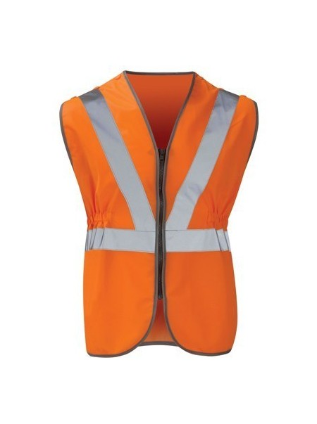 Pull Apart Hi Vis Orange Vest