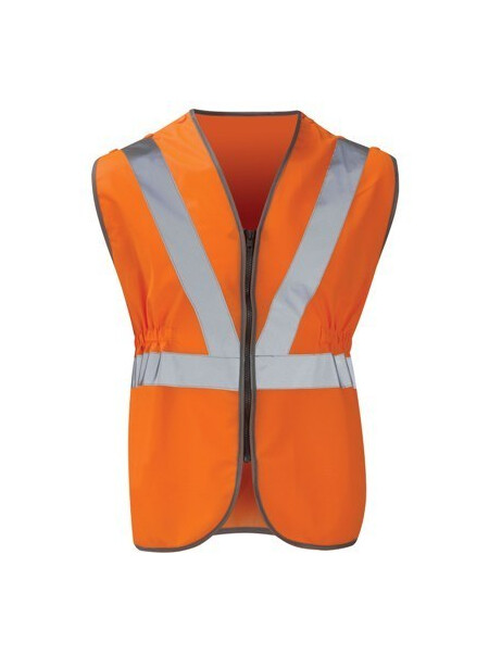 Pull Apart Railway Hi Vis Vest Orange