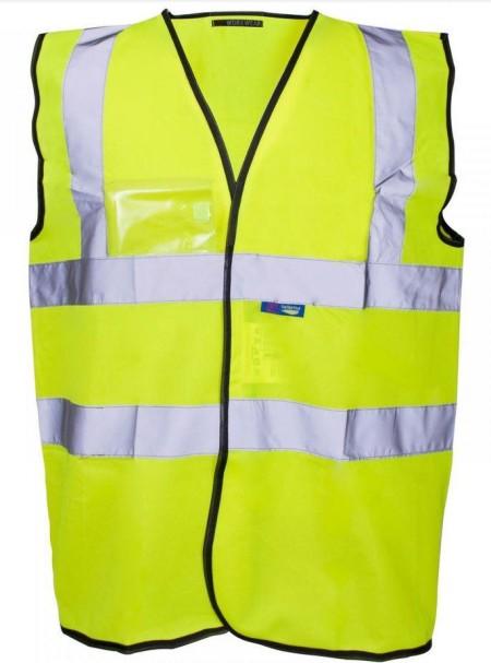 HI Vis Vest with ID Pocket