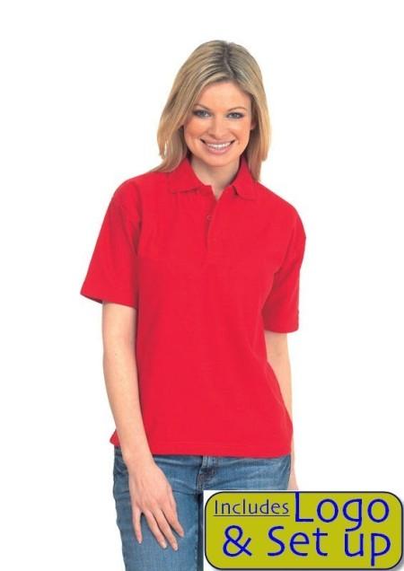 200 UC105 Embroidered Polo Shirt