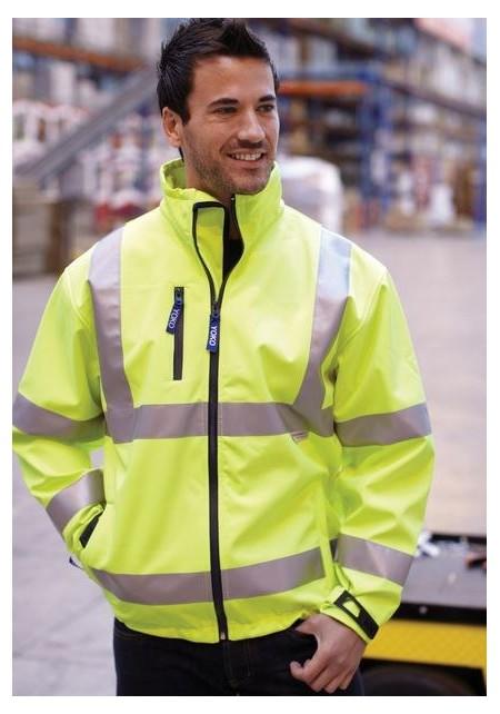 Hi Visibility Softshell Jacket