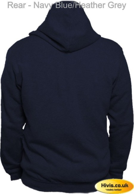 UC507 Navy Blue/Heather Grey