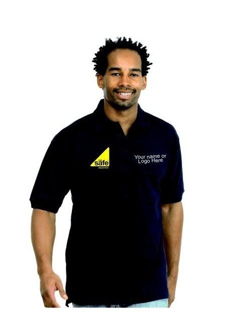 Embroidered Gas Safe Polo Shirt