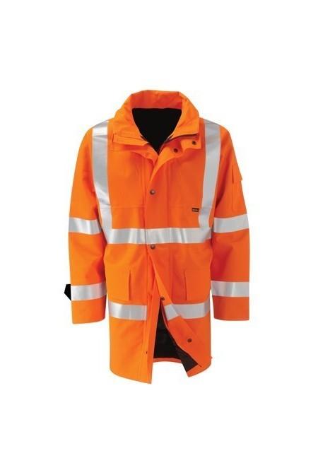 Gore Tex Orange Hi Vis Coat