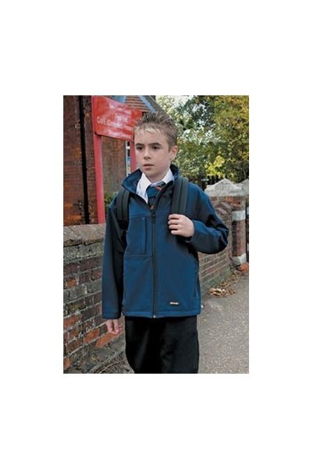 Result R121J Kid's Classic Softshell 3 layer jacket