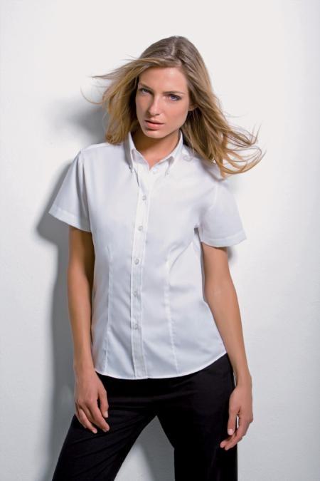 Kustom kit KK70 Oxford Blouse Short Sleeve