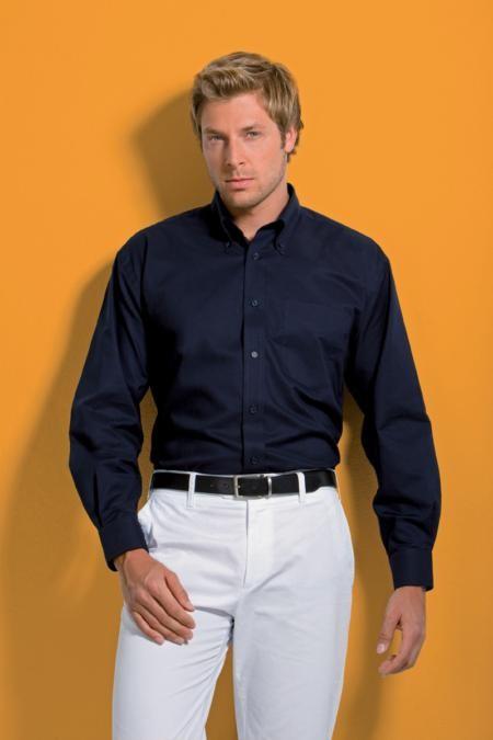 Kustom Kit KK351,Workplace Oxford shirt