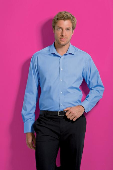 Kustom Kit KK131,Tailored Business Shirt L/S