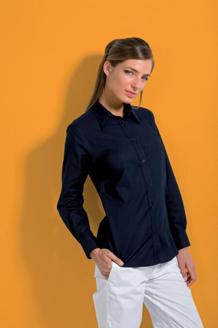 Kustom Kit KK361,Workplace Oxford blouse