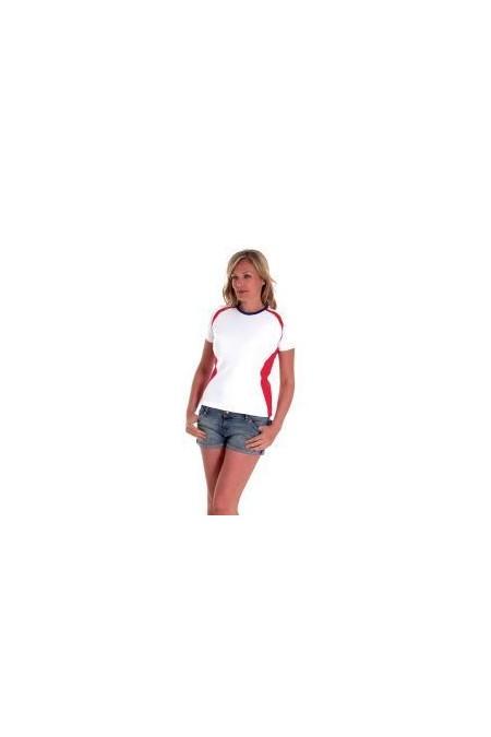 Uneek UC312 220GSM Ladies Premium Short Sleeve Union T-Shirt includes your logo