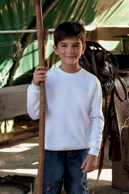 Fruit of the Loom SS271 Kid's raglan sweatshirt
