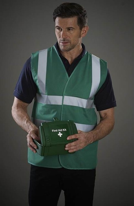 Green Hi Vis Safety Vest