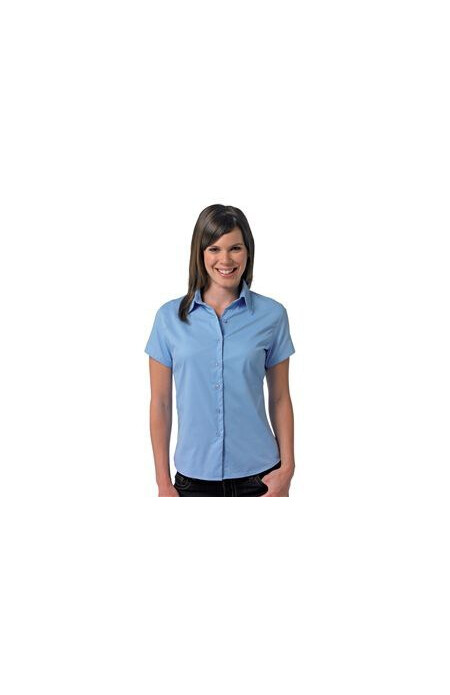 Russell J917F Women's short sleeve twill shirt