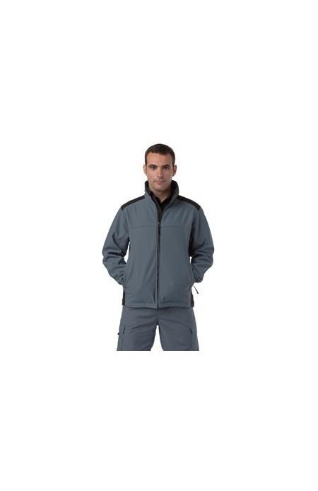 J018m Jerzees softsheel workwear jacket