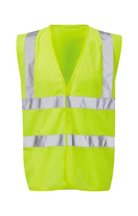 Yellwo Hivis With Yellow Piping