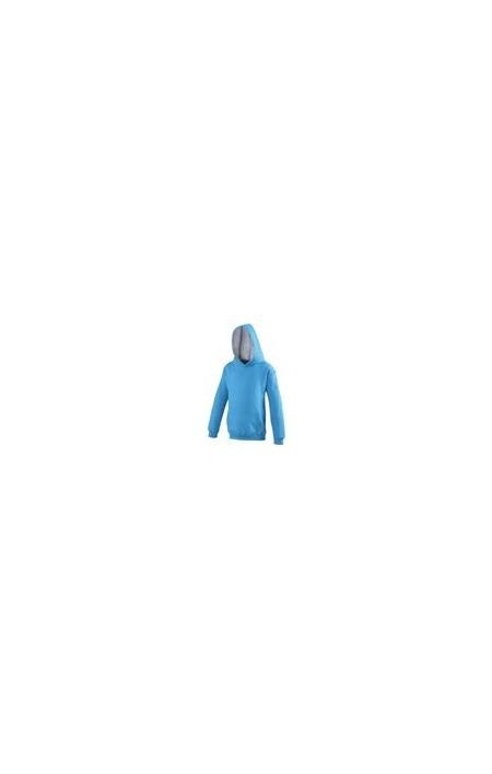 Awdis JH03J Sapphire Blue / Heather Grey