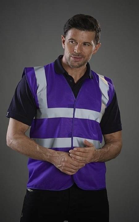 Purple Hi Vis Vest