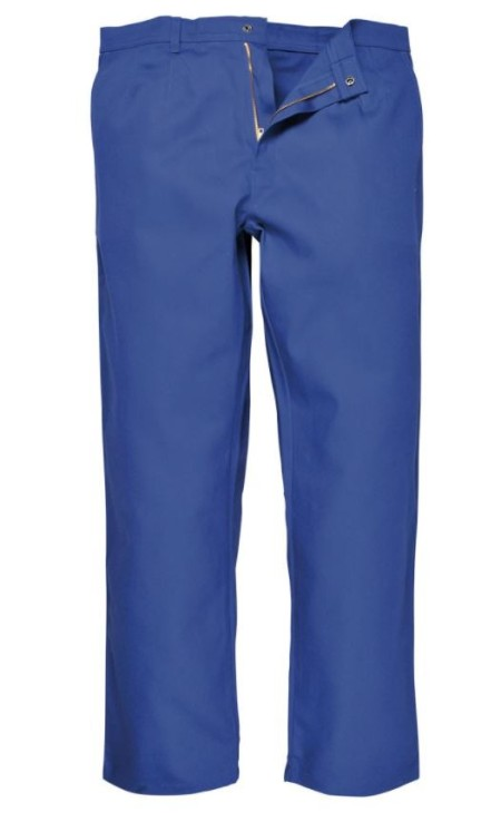 Royal Blue FLame retardent trousers BZ30