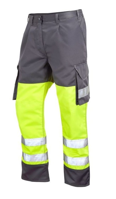 Leo Bideford trouser Yellow grey