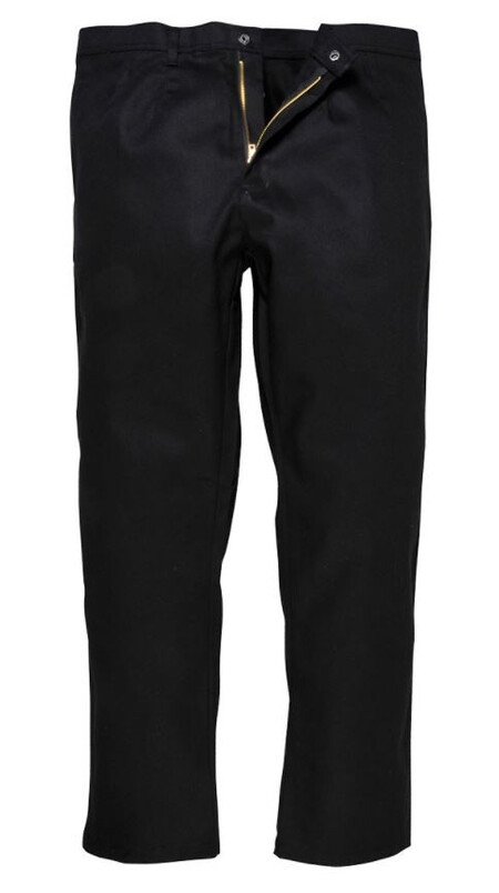 Black bz30 FLAME RETARDENT TROUSERS