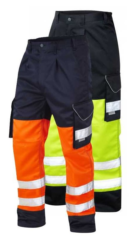 Leo Bideford Hi Vis Cargo Trousers CT01