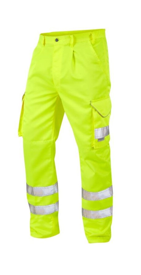 Leo Bideford trouser Yellow