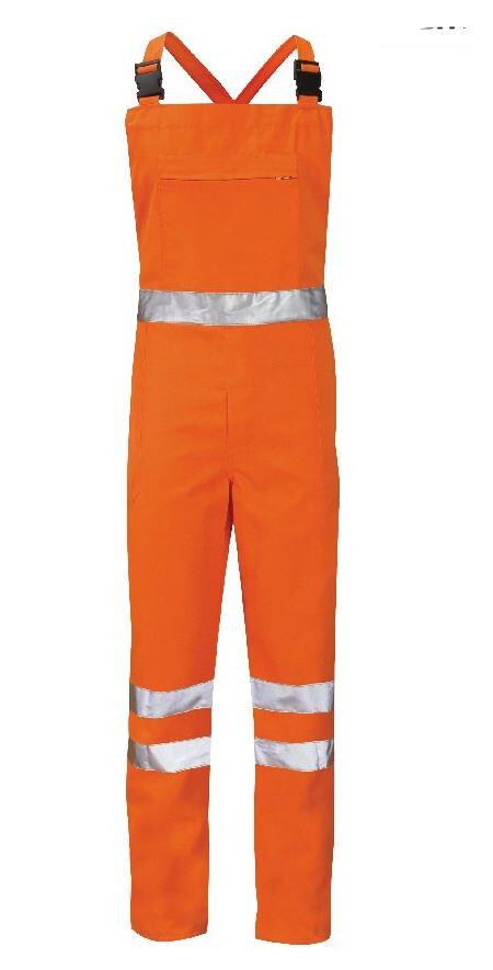 Hi Vis Bib and Brace Orange