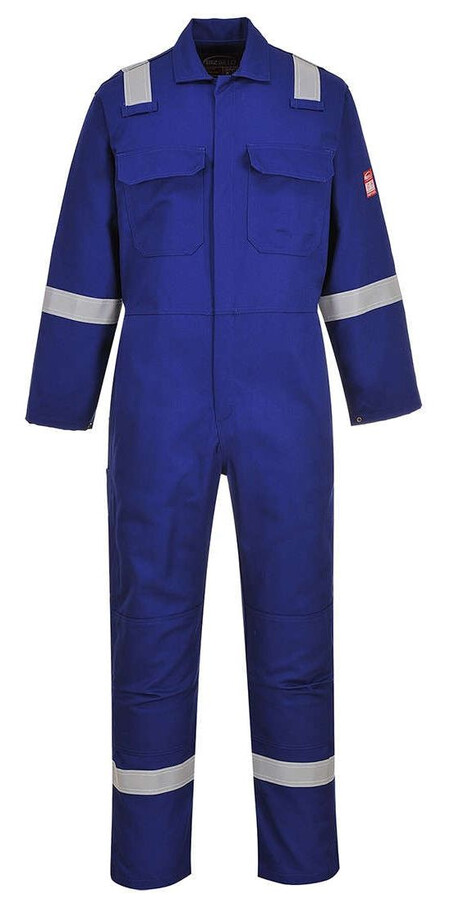 BIZ5 Iona Coverall Royal Blue