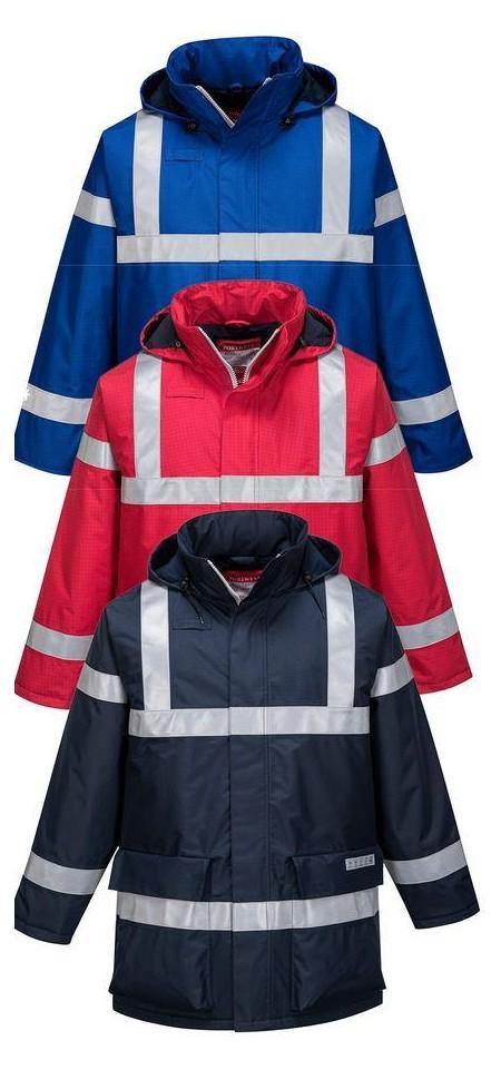 70803023eea1 Portwest S785 Bizflame Rain Anti Static FR Jacket