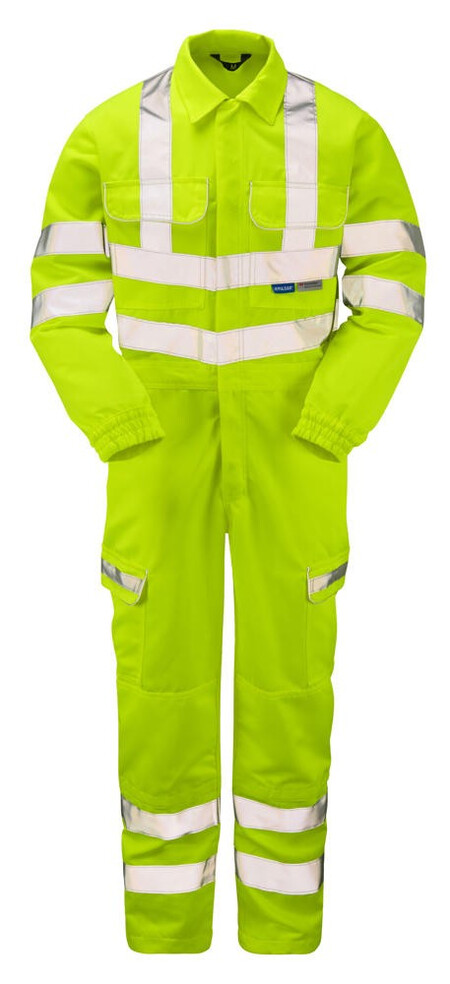 Pulsar Hi Vis Coverall with Combat Pockets P349